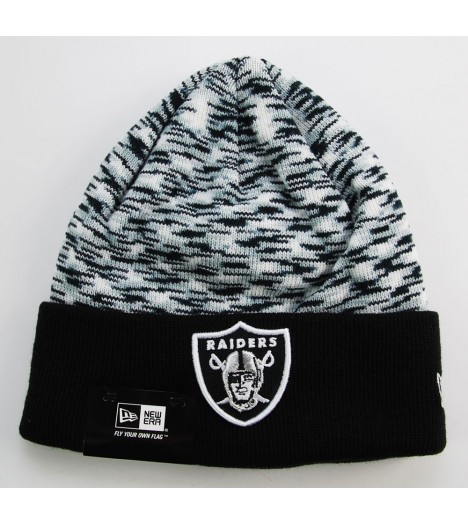 Bonnet New Era Oakland Raiders Noir - Gris Space Dye