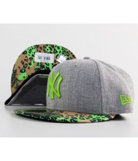 Casquette New Era New York Yankees Gris - Vert 59Fifty