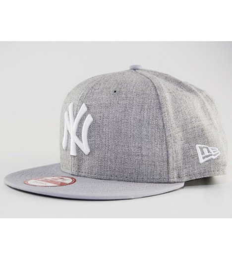 Casquette New Era NY Yankees Fesh Snapback Gris