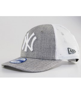 Casquette Trucker bébé New Era 940 Toddler NY Yankees Gris