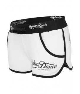 Mini-short Urban Dance NY Academy Blanc - Noir Hot Pant