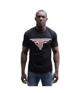 T-shirt BTTF 80zetrei Noir Kaaris Back To The Future