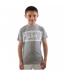 T-shirt Enfant Wati B Nelson Junior Gris Chiné