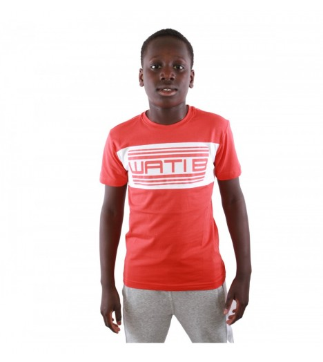 T-shirt Enfant Wati B Nelson Junior Rouge