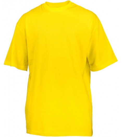 Tee-shirt extra long URBAN CLASSICS Kids Jaune