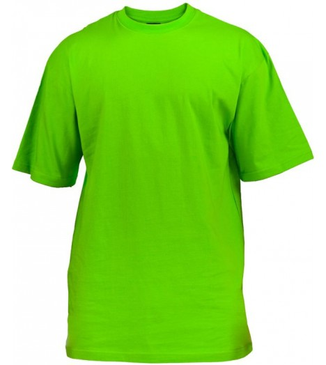 Tee-shirt extra long URBAN CLASSICS Kids Vert lime
