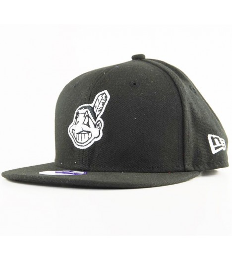 Casquette Enfant New Era Cleveland Indians Junior League Noir