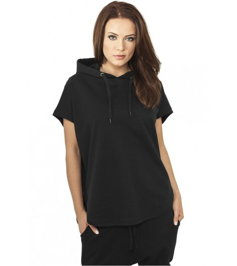 Sweat Capuche Long Urban Classics Noir