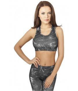 Brassiere Urban Classics Sprinkled Sports Bra