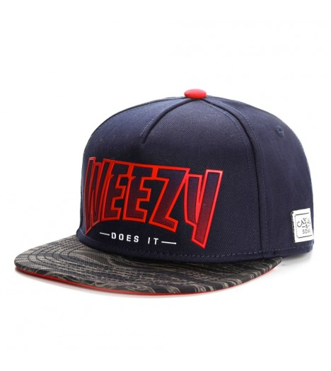 Casquette Cayler & Sons Weezy Does It Snapback Bleu