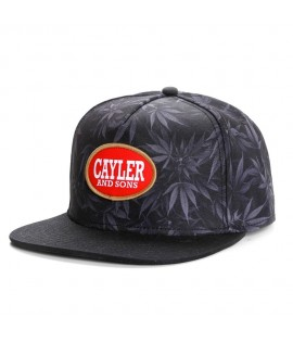 Casquette Cayler & Sons Blunted Noir Kush