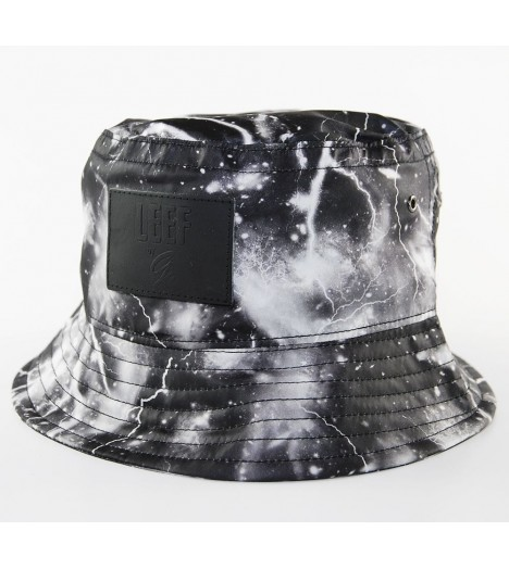 Bob Leef Flash Storm Tiny Bucket Hat Noir