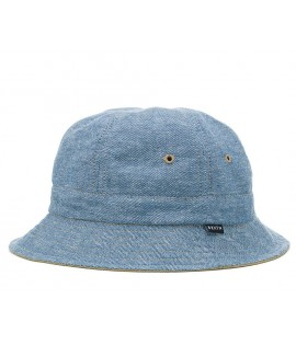 Bob Réversible Brixton Banks Bleu Bucket Hat