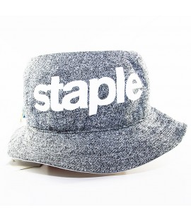 Bob Staple Stealth Bucket Hat Reversible Gris