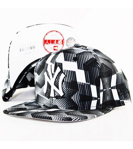 Casquette New Era NY Yankees Black & White