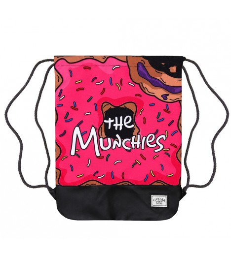 Sac à ficelle Cayler & Sons Munchies Gym Bag Donuts