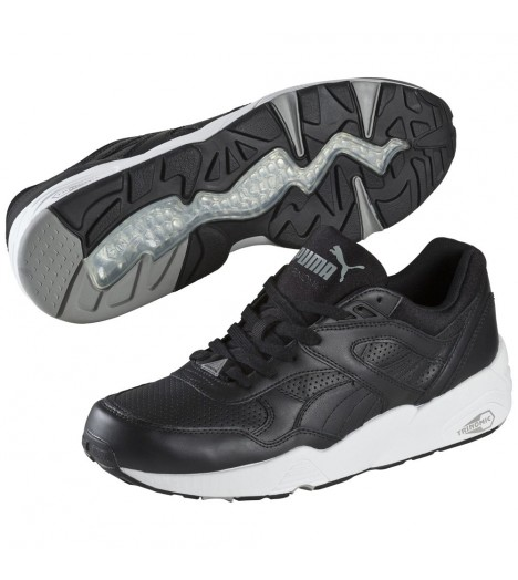 Baskets Puma R698 Core Leather Noir