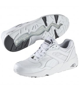 Baskets Puma R698 Core Leather Blanc
