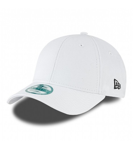 Casquette New Era 940 Basic Blanc Incurvée 9Forty