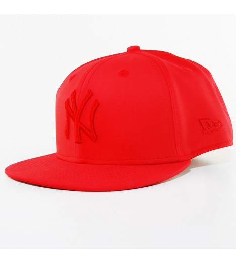 Casquette New Era NY Yankees Rouge PU Tonal