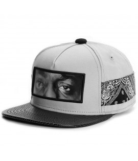 Casquette Cayler & Sons All Eyes On Me Cap Snapback Gris Paisley