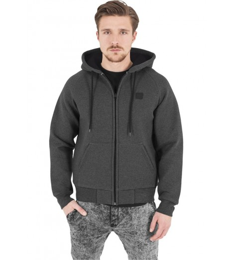 Sweat Thermo Urban Classics Gris Foncé Capuche
