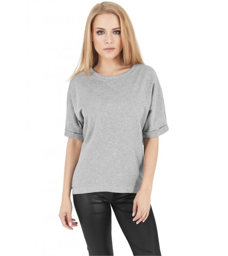 Sweat Manches Courtes Loose Urban Classics Gris