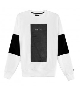 Sweat Cayler & Sons Tres Slick Crewneck Blanc Black Label