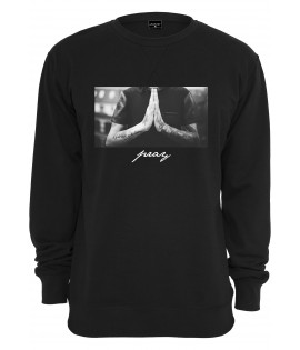 Sweat Mister Tee Pray Crewneck Noir