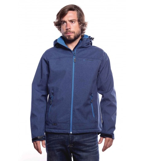 Veste MZGZ Immersion X-Land Bleu Zip Thermique