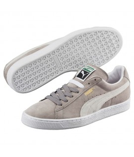 Chaussures Puma Suede Steeple Gray Gris