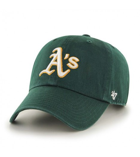 Casquette 47 Brand Oakland Athletics Vintage Clean Up Vert
