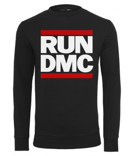 Sweat Run DMC x Mister Tee Logo Crewneck Noir
