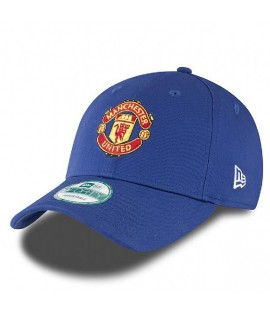 Casquette New Era 940 Manchester United Bleu Roi 9Forty