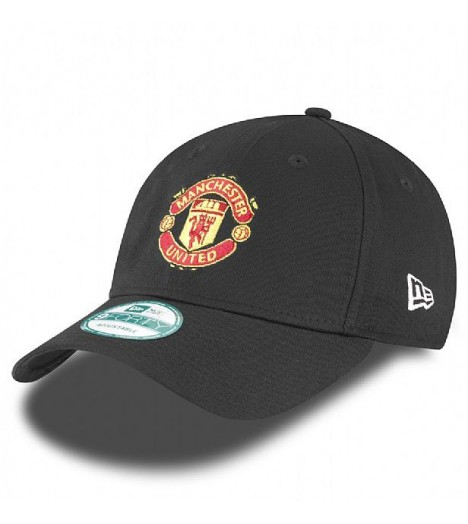 Casquette New Era 940 Manchester United Noir 9Forty