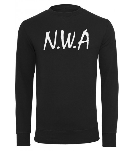 Sweat NWA Straight Outta Compton x Mister Tee Crewneck Noir