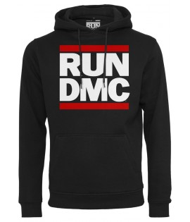 Sweat Run DMC x Mister Tee Logo Hoody Noir