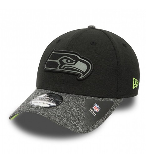 Casquette New Era Seattle Seahawks 39Thirty Grey Collection NFL