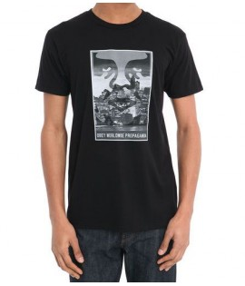 Tee-Shirt Obey Nightwatch Noir