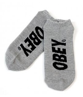 Chaussettes Obey City Low Socks Gris