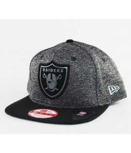 Casquette New Era Oakland Raiders Grey Collection 950 NFL Snapback