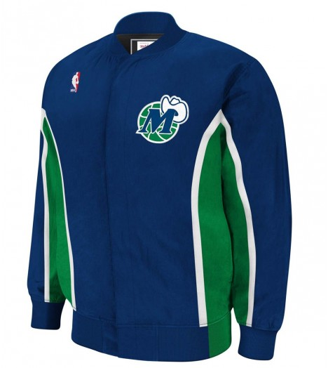Veste Mitchell & Ness Dallas Mavericks Authentic Warm Up 96-97 Hardwood Classics