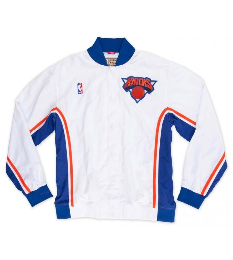 Veste Mitchell & Ness New York Knicks Authentic Warm Up 93-94 Hardwood Classics
