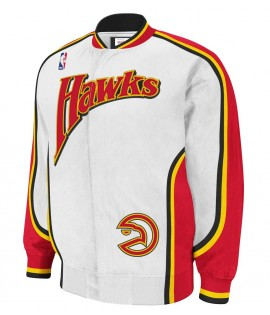 Veste Mitchell & Ness Atlanta Hawks Authentic Warm Up 92-93 Hardwood Classics