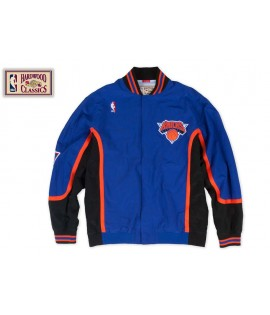 Veste Mitchell & Ness New York Knicks Authentic Warm Up 96-97 Hardwood Classics
