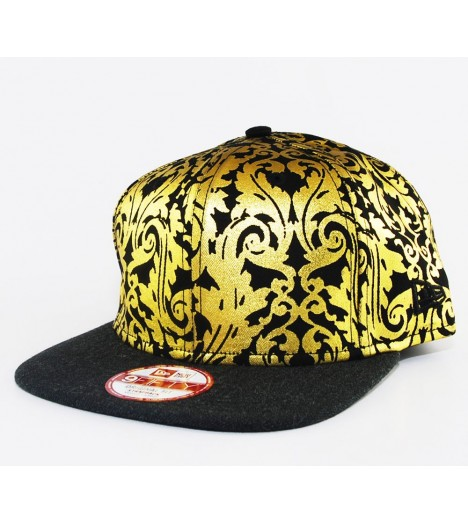 Casquette New Era Heather Print Gold