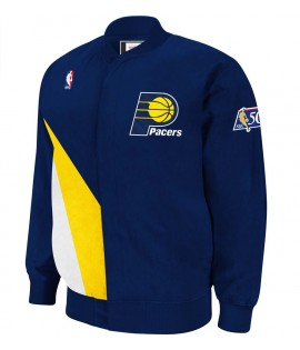 Veste Mitchell & Ness Indiana Pacers Authentic Warm Up 96-97 Hardwood Classics