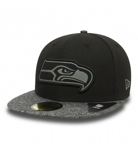 Casquette New Era 59Fifty Seattle Seahawks Grey Collection