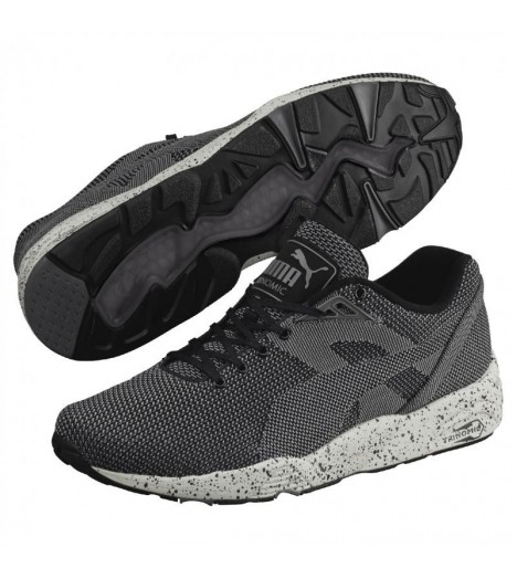 Baskets Puma R698 Knit Mesh Noir Speckle