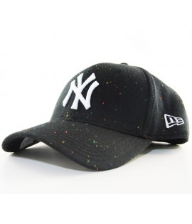 Casquette New Era 3930 NY Yankees Stretch Speckle Noir